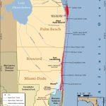 South Florida Reef Tract Map - Gold Coast Scuba Divers (954) 616 - Florida Dive Sites Map