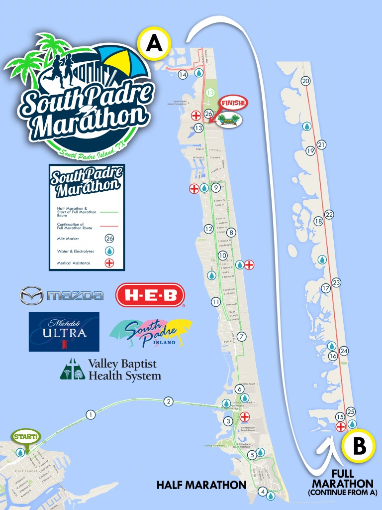 South Padre Island Map (90+ Images In Collection) Page 1 - Texas Padre Island Map