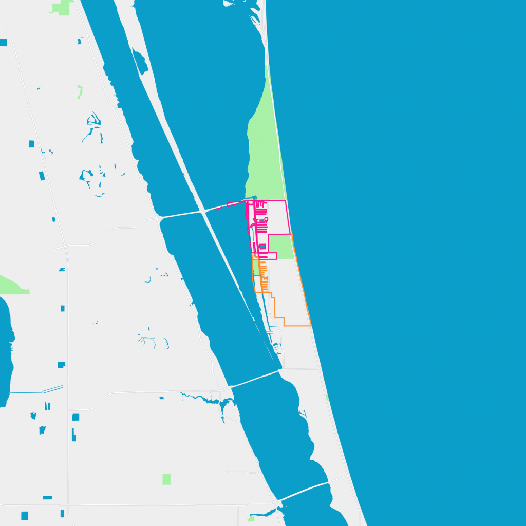 South Patrick Shores Neighborhood Guide - Satellite Beach, Fl | Trulia - Satellite Beach Florida Map