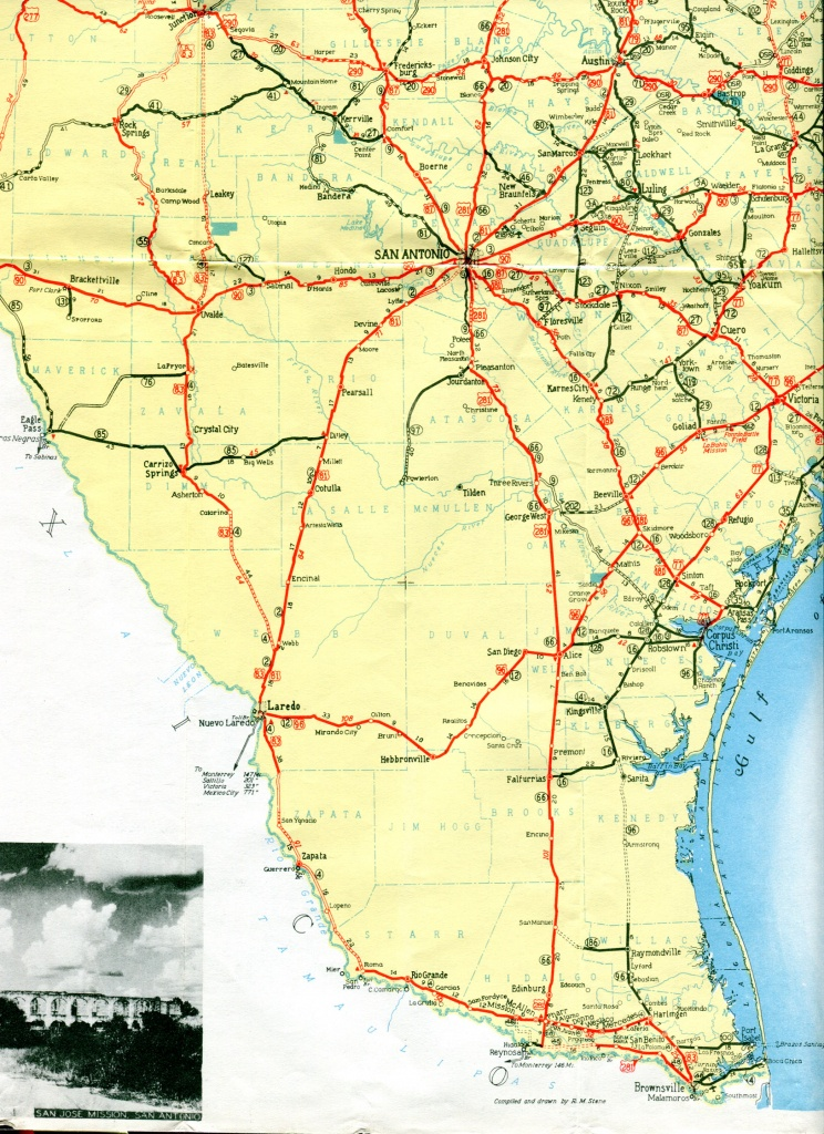 South Texas Maps And Travel Information | Download Free South Texas Maps - Map Of South Texas
