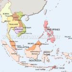 Southeast Asia Maps - Printable Map Of Southeast Asia