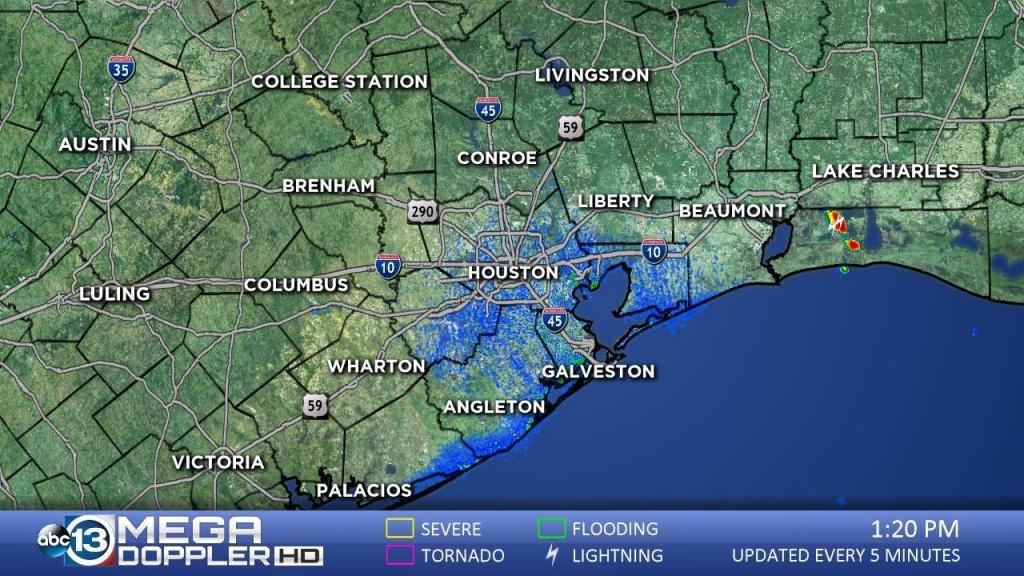 Southeast Texas Radar | Abc13 - Texas Radar Map
