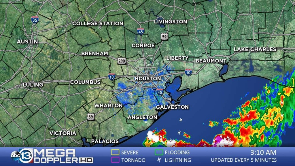 Southeast Texas Radar | Abc13 - Texas Weather Radar Maps Motion