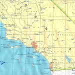 Southern California Base Map   Southern California Map Printable