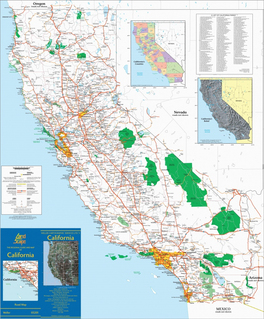 Southern California Beach Towns Map Large Detailed Map Of California - Southern California Beach Towns Map