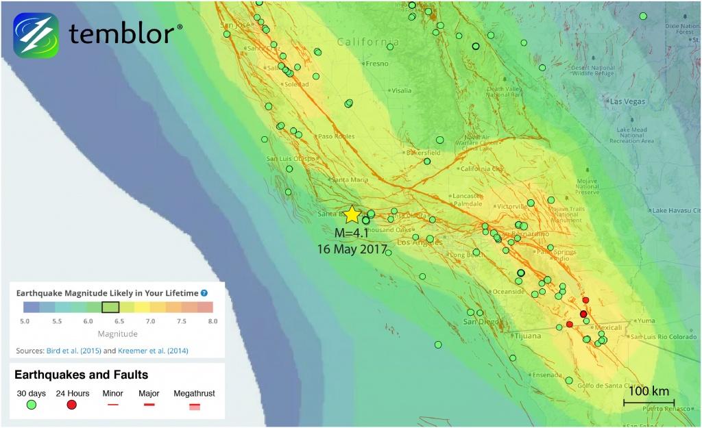 Southern-California-Earthquake-Map-Earthquake-Forecast – Temblor - Southern California Earthquake Map