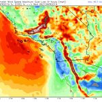Southern California Faces Blast Of Strong Winds Tuesday Into   Real Time Wind Map California