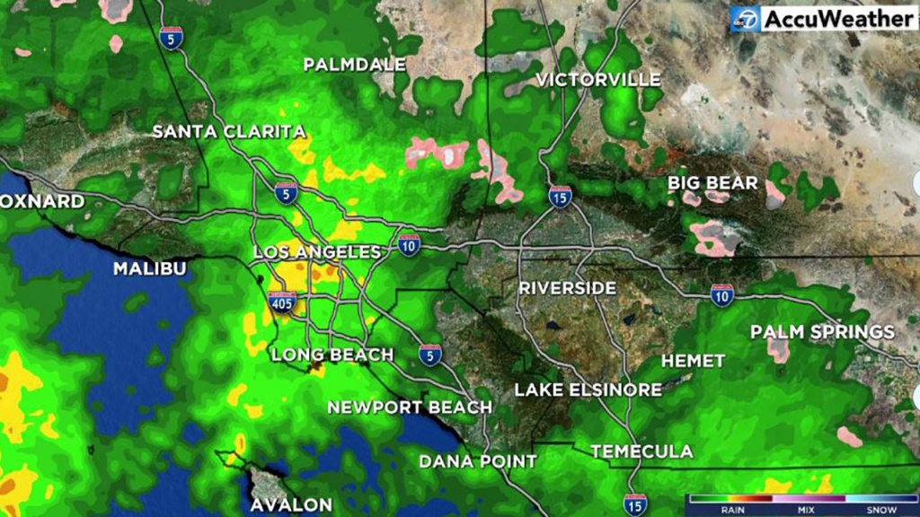 Southern California Weather Forecast - Los Angeles, Orange County - Doppler Map California