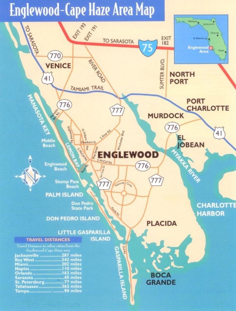 Manasota Key Florida Map | Printable Maps