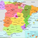 Spain Maps | Maps Of Spain   Printable Map Of Spain With Cities