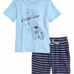 Splendid Splendid California Map T Shirt & Shorts Set (Toddler Boys   California Map Shirt