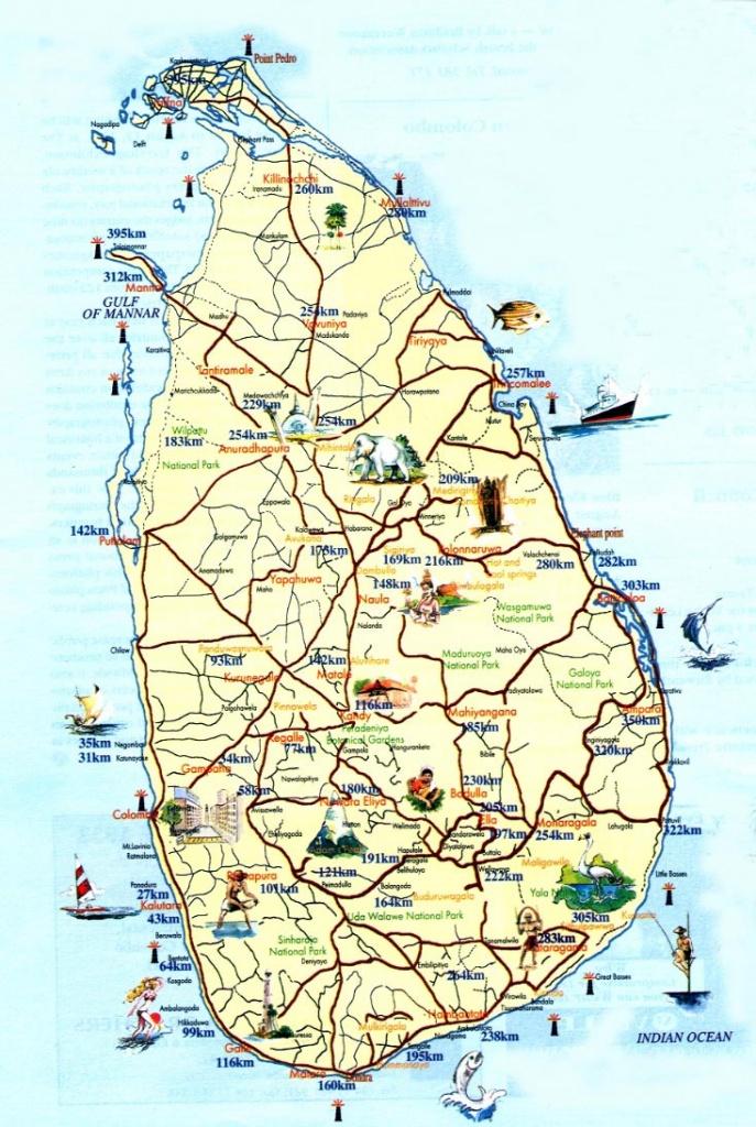 Sri Lanka Maps   Printable Maps Of Sri Lanka For Download - Printable Map Of Sri Lanka