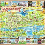 St Augustine Fl Map (90+ Images In Collection) Page 1   St Augustine Florida Map Of Attractions