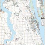 St Augustine, Fl Wall Map – Kappa Map Group   Map Of St Johns County Florida