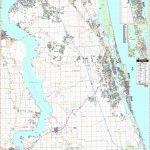 St Augustine, Fl Wall Map   Maps   Map Of St Johns County Florida