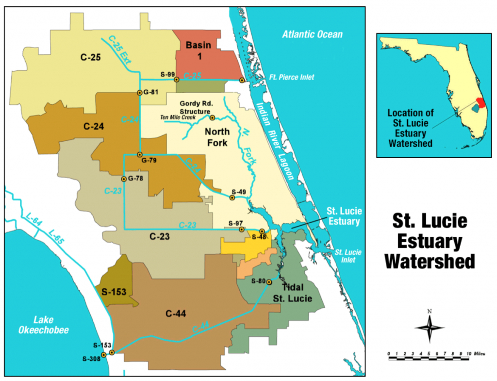 St. Lucie River - Wikipedia - Street Map Of Stuart Florida