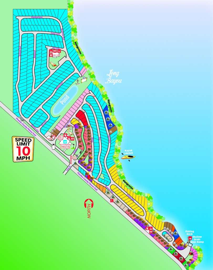 St. Petersburg, Florida Campground | St. Petersburg / Madeira Beach Koa - Map Of Koa Campgrounds In Florida