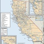 State And County Maps Of California - California Map With County Lines