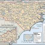 State And County Maps Of North Carolina   Printable Map Of North Carolina