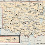 State And County Maps Of Oklahoma   Road Map Of Texas And Oklahoma