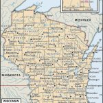 State And County Maps Of Wisconsin   Printable Map Of Wisconsin Cities