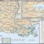 State And Parish Maps Of Louisiana - Free Online Printable Maps
