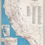 State Highway Map, California, 1960.   David Rumsey Historical Map   California Atlas Map