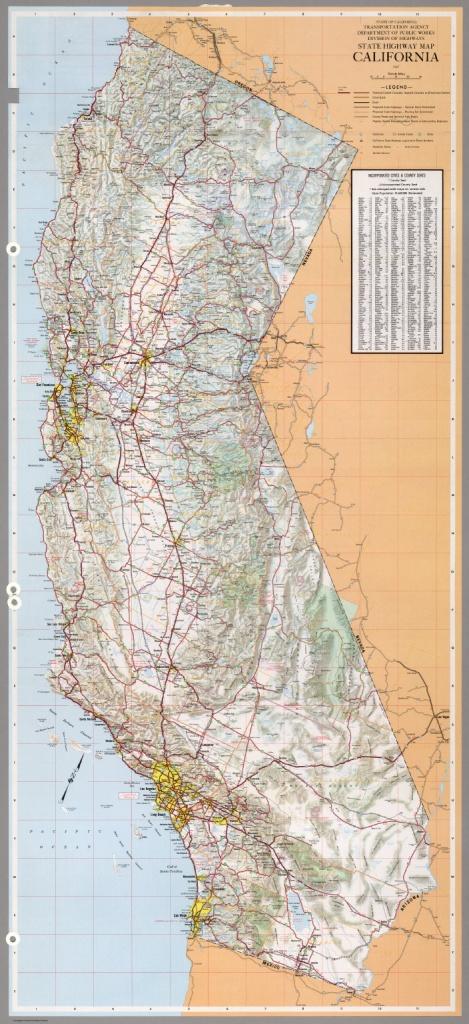 State Highway Map, California, 1967. - David Rumsey Historical Map - California State Highway Map