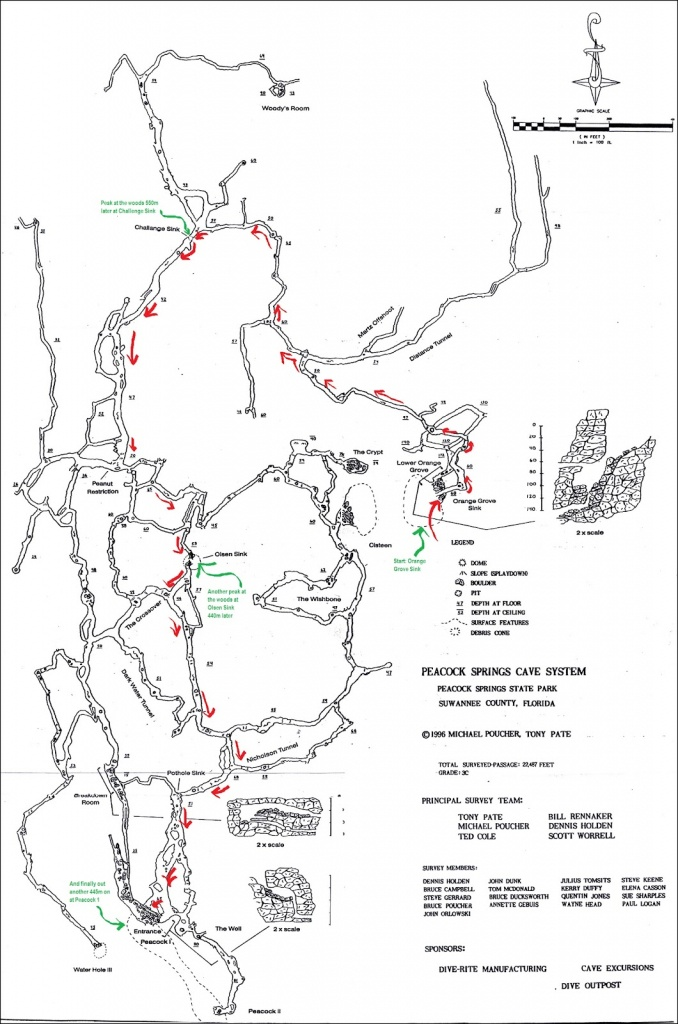 States Of Immersion - A Florida Cave Diving Adventure: The Grand - Florida Cave Diving Map
