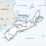 Stock Vector Map Of Nova Scotia | One Stop Map   Printable Map Of Nova Scotia