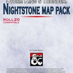 Storm King's Thunder: Nightstone Map Pack   Dungeon Masters Guild | Dungeon  Masters Guild   Storm King's Thunder Printable Maps