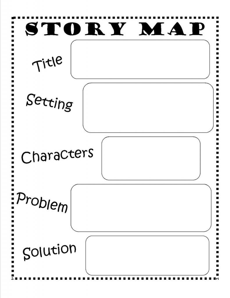 Story Map - Free Printable #reading #writing #kids   Ela   Story Map - Printable Story Map