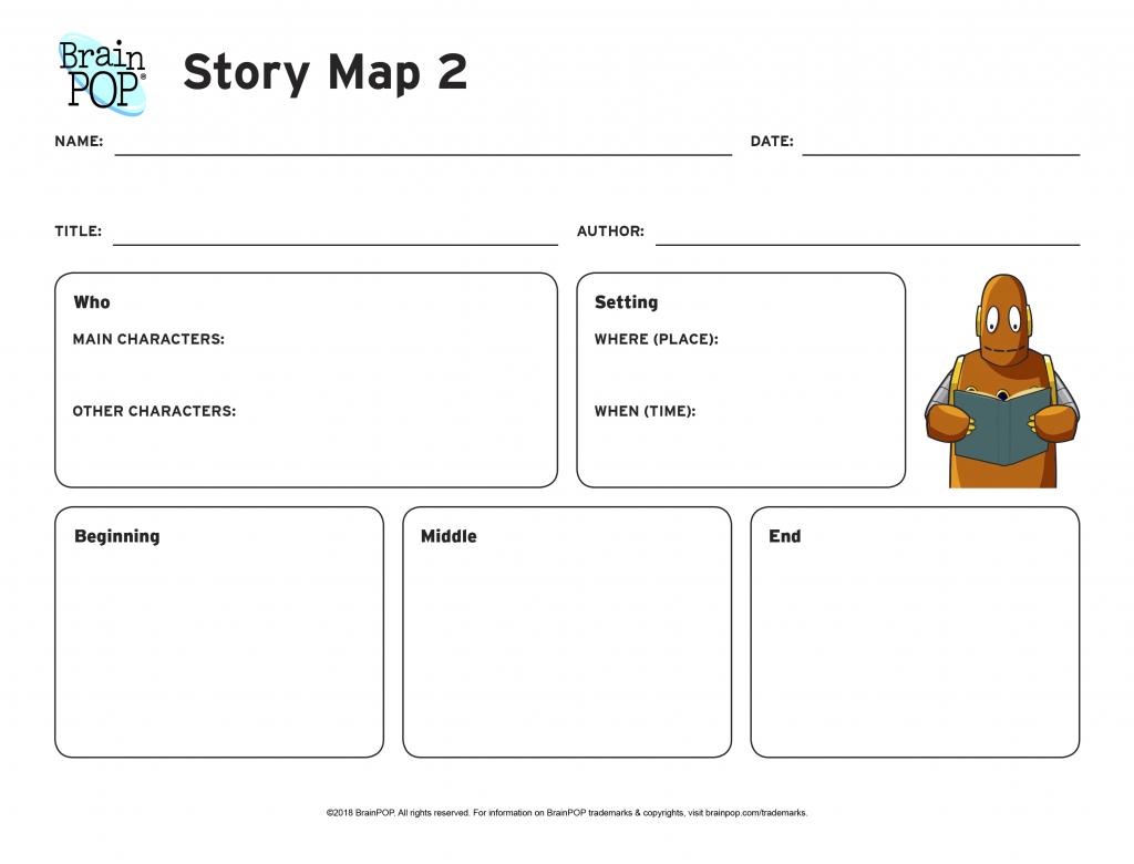 Story Map Graphic Organizer | Brainpop Educators - Printable Story Map Graphic Organizer