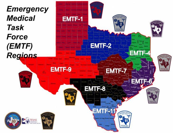 Texas Dps Region Map