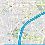 Street Map Of Paris France Printable   World Map - Printable Map Of Paris France