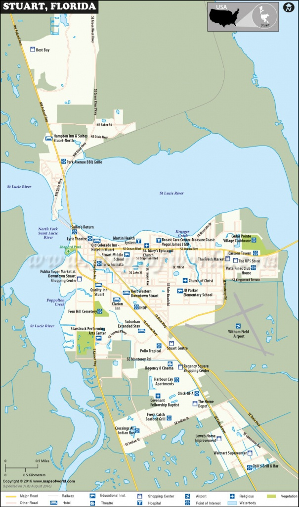 Stuart Florida Map - Google Maps Stuart Florida