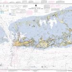 Sugarloaf Key To Key West Nautical Chart   Νοαα Charts   Maps   Florida Keys Marine Map