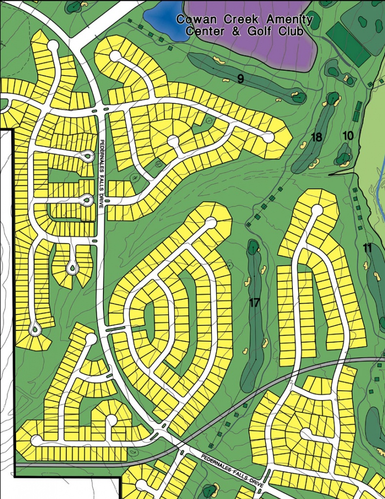 Sun City Texas | Sec Planning, Llc - Sun City Texas Map