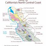 Swe Map 2019: California—Northern Central Coast – Wine, Wit, And Wisdom - Central Coast California Map