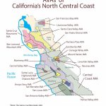 Swe Map 2019: California—Northern Central Coast – Wine, Wit, And Wisdom - Map Of Northern California Coast