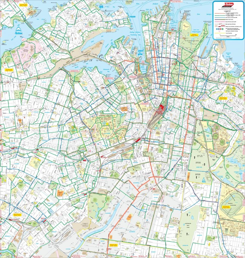 Sydney Maps | Australia | Maps Of Sydney - Printable Map Of Sydney Suburbs