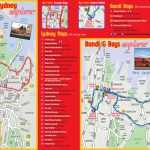 Sydney Maps - Top Tourist Attractions - Free, Printable City Street Map - Printable Map Of Sydney