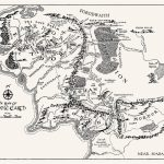 T16) - Middle Earth Map In 2019   Tattoos   Middle Earth Map, Middle - Printable Map Of Middle Earth