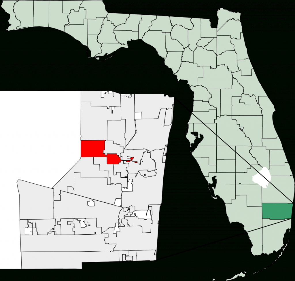 Tamarac, Florida - Wikipedia - Tamarac Florida Map