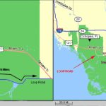Tamiami Trail Officially Opened In 1928   Tamiami Trail Florida Map