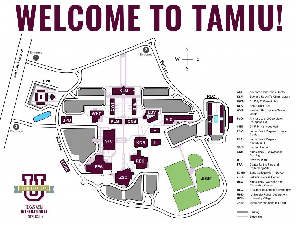 Tamiu Map - Texas A&m Location Map