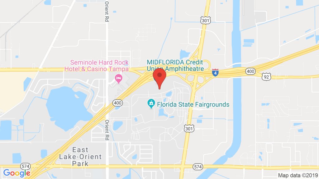 Tampa Amphitheater In Tampa, Fl - Concerts, Tickets, Map, Directions - Mid Florida Amphitheater Parking Map