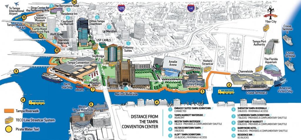 Tampa Convention Center | Visit Tampa Bay - Cruise Terminal Tampa Florida Map