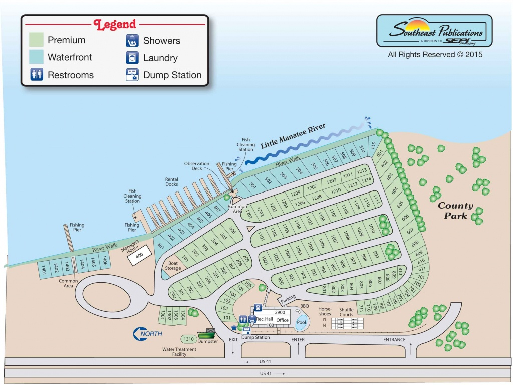 Tampa South Rv Resort - Rv Dealers In Florida Map