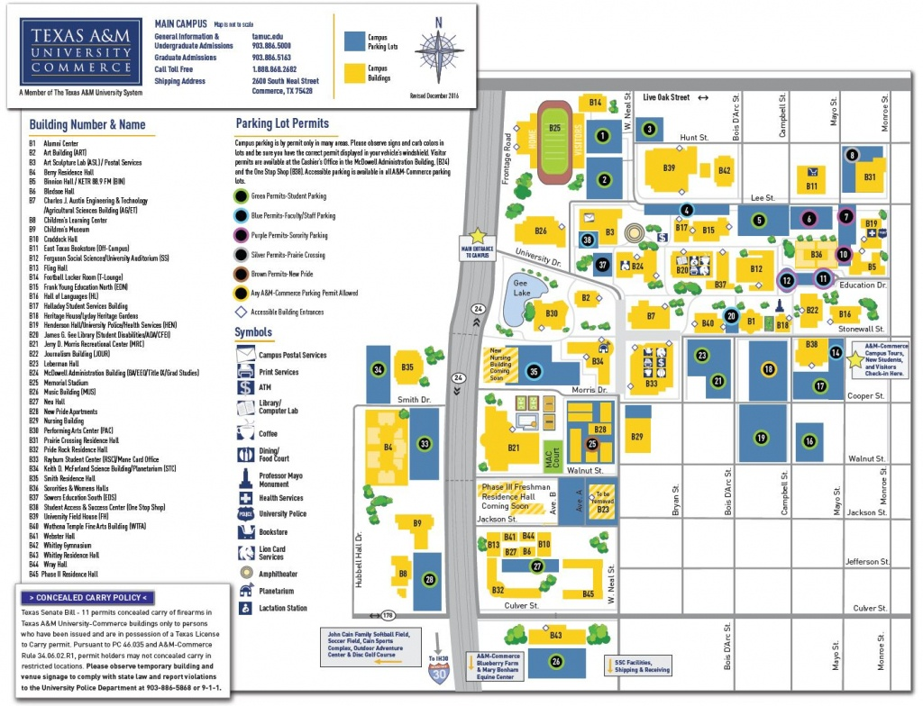 Tamuc Campus Map | Fysiotherapieamstelstreek - Texas A&m Housing Map